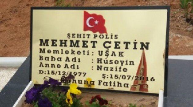15 TEMMUZUN KAHRAMAN ŞEHİDİ ,MEHMET ÇETİN 'İN ANNESİ VEFAT ETTİ..