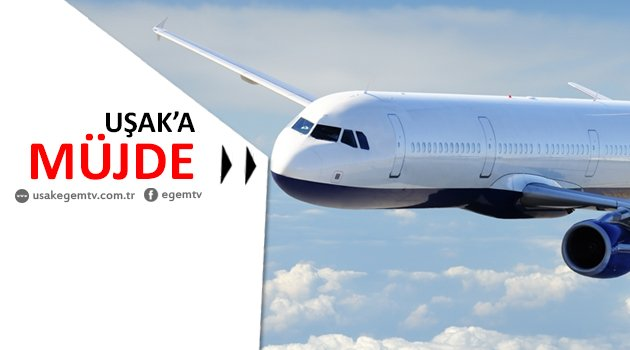 16 Ocak'tan itibaren Uşak-İstanbul Uçuşları başlıyor.