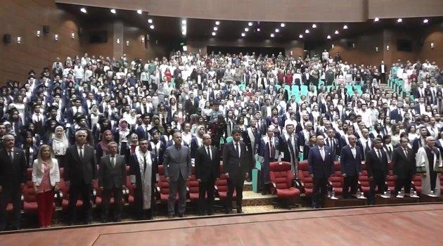 2017 - 2018 Yılı Akademik Yılı Mezuniyet Töreni gerçekleştirildi