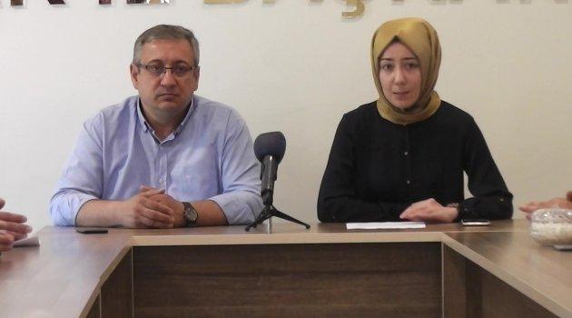 AK Parti Kadın Kolları Srebrenitsa Katliamını Kınadı