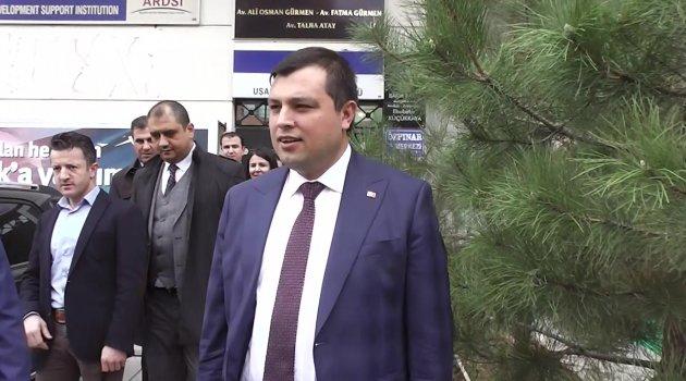 AK Parti Uşak Belediye Başkanı Mehmet Çakın'dan TKDK'ya ziyaret!