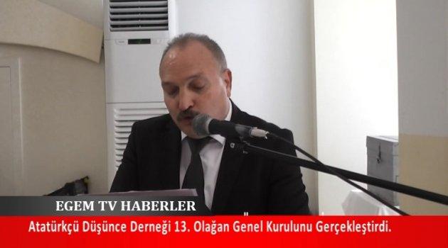 Atatürkçü Düşünce Derneği Uşak Şubesi 13. Olağan Genel Kurulu Üyelerin Katılımı İle Gerçekleştirildi.