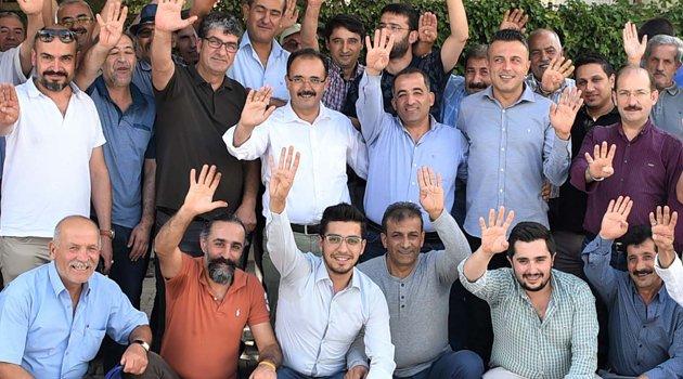 Başkan Cahan Malatyalılara Teşekkür Ziyareti Gerçekleştirdi