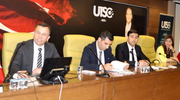 Bilgilendirme Toplantısı UTSO Meclis Salonunda Gerçekeştirildi