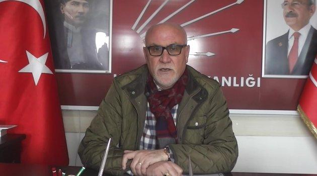 "CHP Uşak İl Başkanı Nadi Sancar ""Ülkemizin başı sağolsun"""