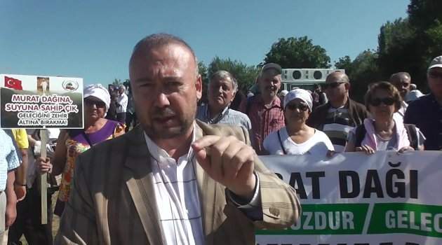 """CHP Uşak Milletvekili Özkan Yalım """"İçme Suyumuzun Yok Olmasını İstemiyoruz"""""""