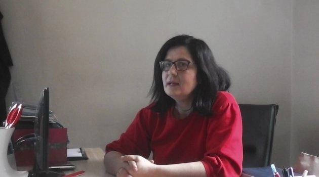 Cumhuriyet Mahallesi Muhtar Adayı Fadime Meral'den Egem TV Muhabirlerine özel açıklamalarda bulundu