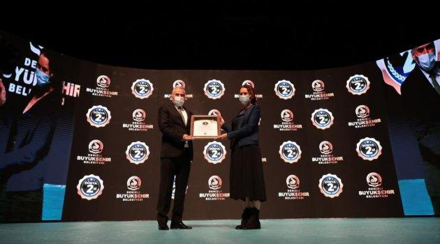 Denizli Büyükşehir Belediyesi dünya 2. olmanın gururunu yaşıyor