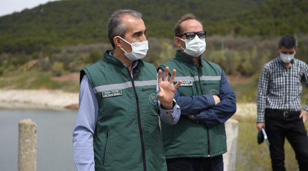 DSİ Genel Müdürü Yıldız, Uşak'ta incelemede bulundu.