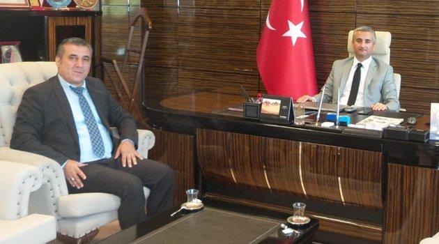 Egem TV Yönetim Kurulu Başkanı Soner Demiröz'den İlimize Yeni Atanan Başsavcı Bünyamin Korkmaz'a Ziyaret