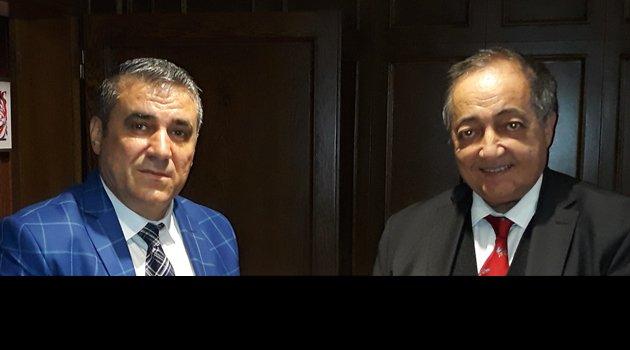 Egem TV Yönetim Kurulu Başkanı Soner Demiröz, Yaşar Holding Yönetim Kurulu Başkanı Mustafa Selim Yaşar İle Görüştü.