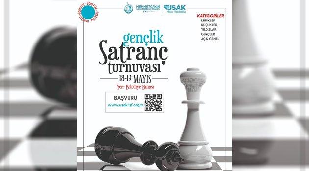 'Gençlik Satranç Turnuvası' Başvuruları Başladı
