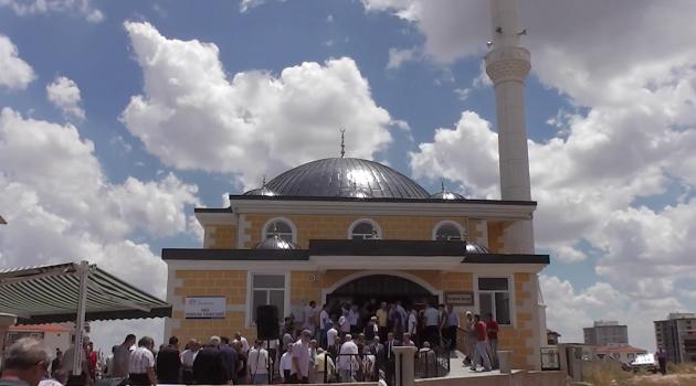 Hacı Ramazan Turan Camisi Açılış Töreni Gerçekleştirildi.
