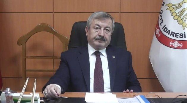 İl Genel Meclisi Başkanı Mehmet Nacar, 12 Mart İstiklal Marşı'nın kabulünün 98.Yıl Dönümünü Kutladı