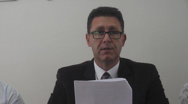 İnşaat Mühendisleri Odası Başkanı Ali Osman Doruk Basın Açıklaması Yaptı