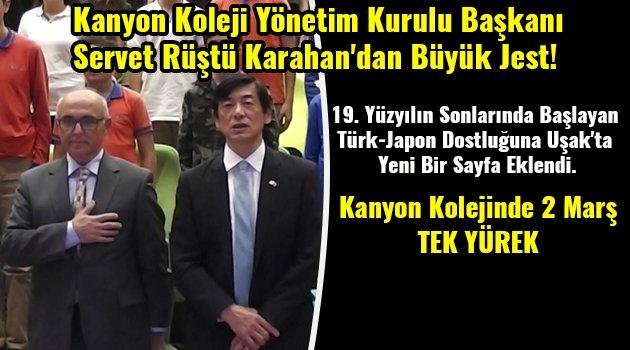 Kanyon Koleji Yönetim Kurulu Başkanı Servet Rüştü Karahan'dan Büyük Jest!