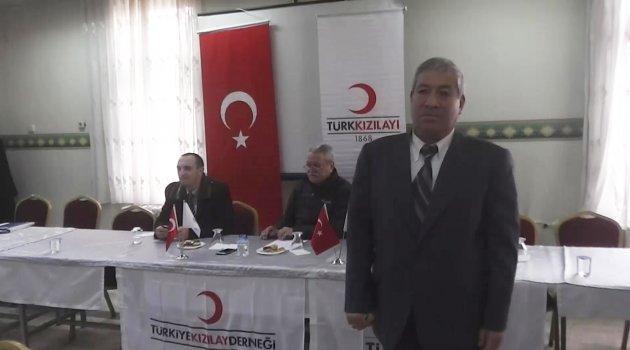 Kızılay Uşak Şube Başkanlığına Mehmet Özkan Seçildi