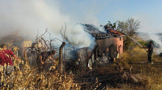 Kızılhisar Köyü'nde Yangın!