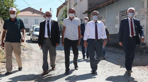 Kütahya Belediye Başkanı Prof. Dr. Alim IŞIK, Alayunt Mahallesi'nde İncelemelerde Bulundu