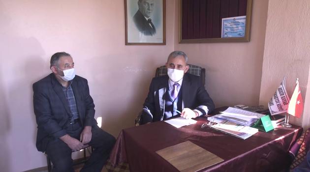 Kütahya Belediye Başkanı Prof. Dr. Alim Işık, İshak Seydi Mahallesini ziyaret etti.