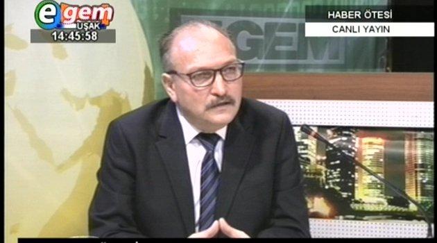 ADD İç Ege Sorumlusu Dr. Arif Güvenir, Uşak'ta Yapılacak Çalışmalar Hakkında Bilgiler Verdi