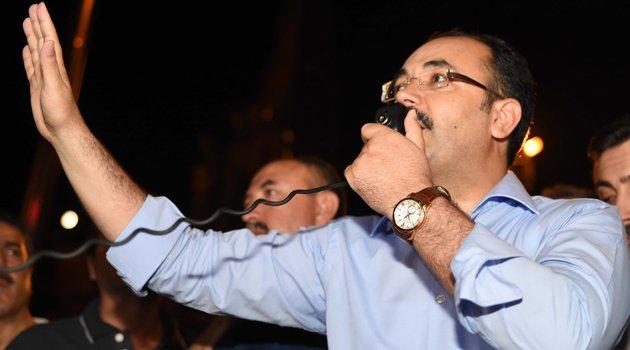 """Başkan Cahan, """"15 Temmuz Türkiye imzasını taşıyan bir destandır"""""""