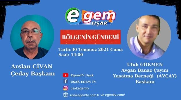 Çevre Dernekleri Egem TV'de Tartışıyor.