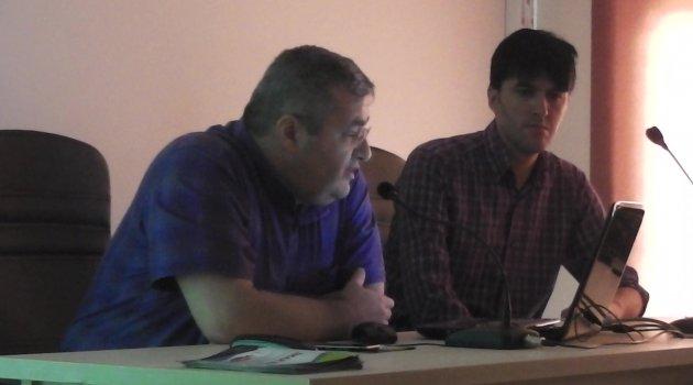 Çevre Şehircilik İl Müdürlüğünde Bilgilendirme Toplantısı Gerçekleştirildi