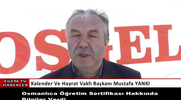 Hayrat Vakfı Başkanı Mustafa Yankı