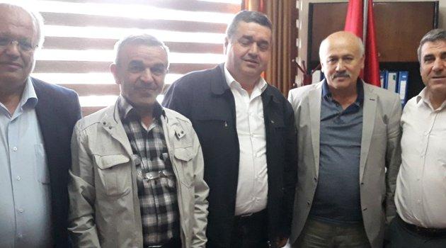 İl Genel Meclisi Turizm Komisyon'undan Egem TV Yönetim Kurulu Başkanı Soner Demiröz'e ziyaret