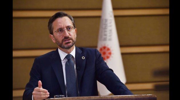 """İletişim Başkanı Altun: """"Dünyanın tüm makul ülkelerine, bu işgale ve saldırılara karşı Azerbaycan ile dayanışma içinde olma çağrısında bulunuyoruz"""""""