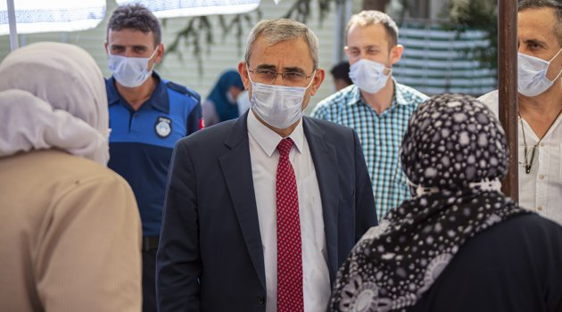 Kütahya Belediye Başkanı Prof. Dr. Alim IŞIK, Covid-19 Denetimlerine Katıldı