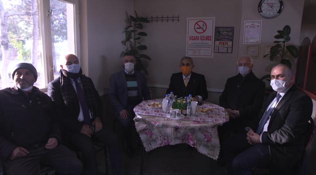 Kütahya Belediye Başkanı Prof. Dr. Alim Işık, Güveçci Mahallesini Ziyaret Etti.