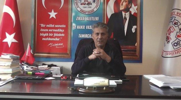 Nazmi Arıkan'dan, Esnaf ve Sanatkarları Uyardı!