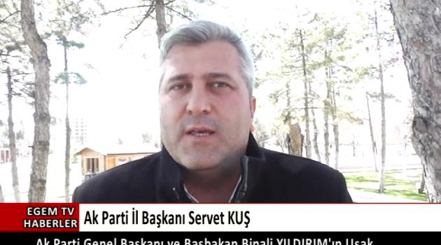Servet KUŞ Başbakanın ziyareti hakkında açıklama yaptı.