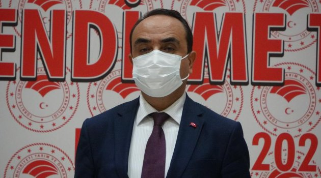 Tarım ve Orman Bakan Yardımcısı Özkaldı, Uşak'ta incelemelerde bulundu..