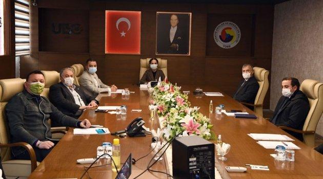 Tarıma Dayalı İhtisas Organize Sanayi Bölgesi (TDİOSB) bilgilendirme toplantısı yapıldı