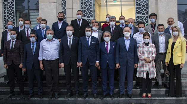 Ulaştırma ve Altyapı Bakanı Adil Karaismailoğlu'ndan Kütahya Belediyesi'ne Ziyaret!