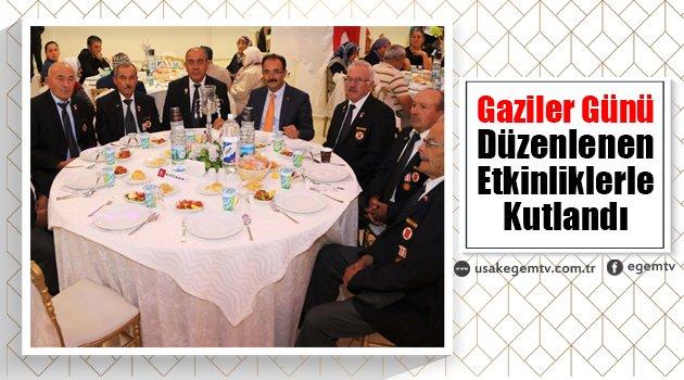 Uşak'ta Gaziler Günü düzenlenen etkinliklerle kutlandı