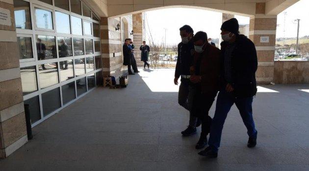 Uşak'ta katil zanlısı tutuklandı.