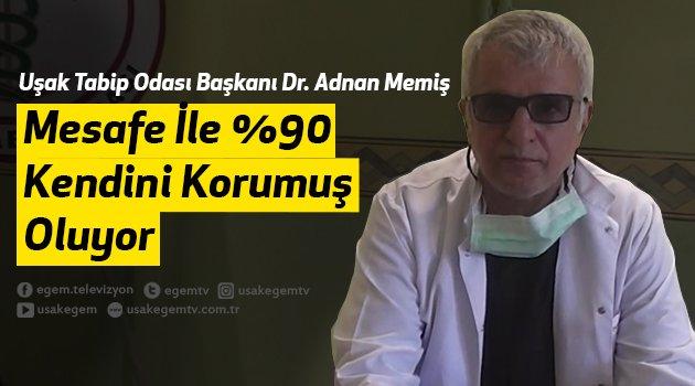 Uşak Tabip Odası Başkanı Dr. Adnan Memiş, korona Virüsüne Karşı Alınacak Tedbileri Değerlendirdi.