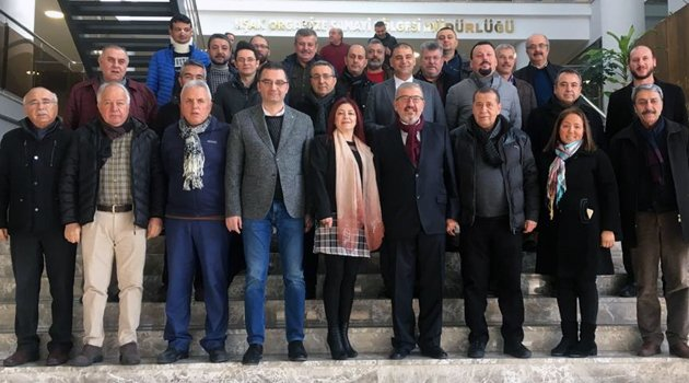 Uşak ve Havalisi Tekstil İş Verenleri Sendikası Yönetim Kurulu Başkanı Arif Öztan Güven Tazeledi
