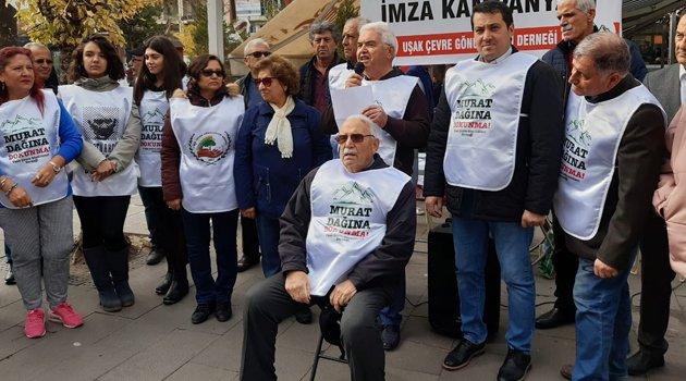 Murat Dağı İçin İmza Kampanyası