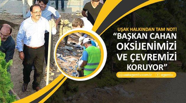 Özel Haber - Sokak Röportajı.Vatandaş Başkan CAHAN a Çevre temizligi ile ilgili  ne diyor..