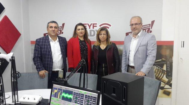 Radyo Keyf Yönetimine Egem Tv'den Hayırlı Olsun Ziyareti...
