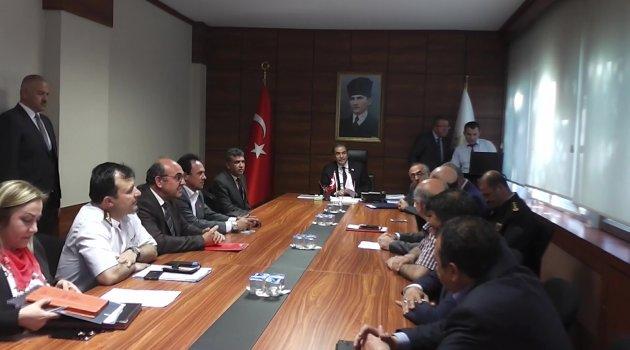 Seçim Güvenliği Bilgilendirme Toplantısı Gerçekleştirildi