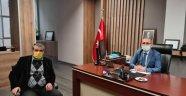 Egem TV Yönetim Kurulu Başkanı Soner DEMİRÖZ, Çevre Şehircilik İl Müdürü Mehmet Fatih Namık ÖZTÜRK'e Hayırlı Olsun Ziyaretinde Bulundu.