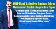 MHP Uşak Belediye Başkan Adayı ve MHP'lilerden, Muhammet Güre Tepki!