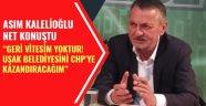 """Asım Kalelioğlu: """"HAYATIMDA HİÇ BİRŞEYDEN YILMADIM"""""""