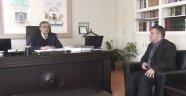 Egem TV Yönetim Kurulu, Uşak İl Müftüsü Kazım Güzel'i Ziyaret Etti